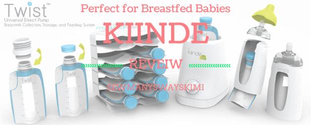 One of the BEST bottles to out there! Kiinde bottle review video breastfed breastfeeding.